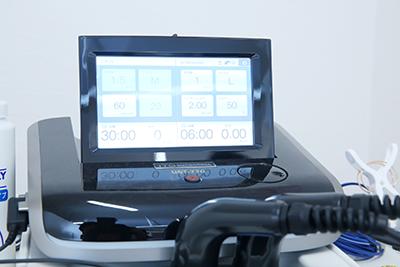 さかき接骨院超音波治療器写真