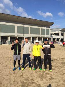 瑞穂市スタッフブログマラソン参加者の皆さんと記念撮影