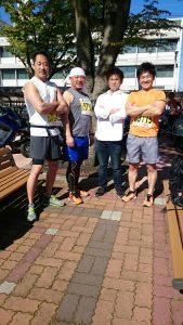 瑞穂市スタッフブログ マラソン参加の様子